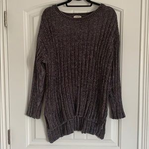 UMGEE Chenille Sweater - charcoal gray (large)